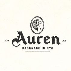 Logotype and Iconography for Auren NYC