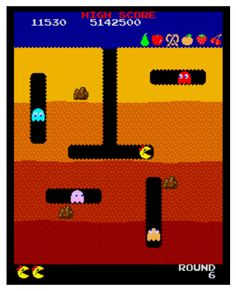 Pacman Boulder Dash !