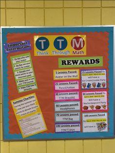 Teaching 5th Grade, Fourth Grade Math, Student Teaching, Classroom Rewards, Math Classroom, Classroom Ideas, Math Resources, Math Activities, Think Through Math