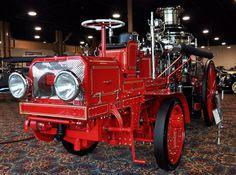 1913 Christie Front Drive steam pumper/ fire engine....