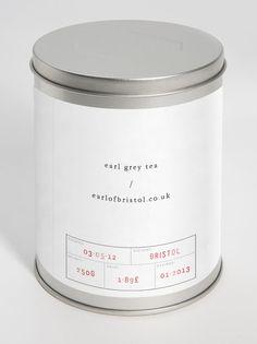 Earl of Bristol earl grey tea packaging Cool Packaging, Coffee Packaging, Brand Packaging, Product Packaging, Organic Packaging, Coffee Branding, Packaging Ideas, Design Package, Label Design