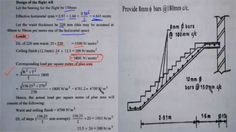 Step-by-step method for designing a stair case by measuring loading as well as tread and riser is very difficult concern in the staircase construction process. These elements need to be calculated and planned well. Construction Cost, Construction Process, Spiral Staircase Plan, Treads And Risers, Concrete Column, Building Costs, Civil Engineering, Stairs, Let It Be