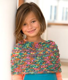 Sweet Shoulder Cozy Free Knitting Pattern LW4927