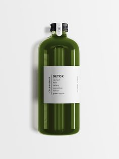 Minimal, modern, juice bottle packaging design for Alchemy and Press by Salt and Pine Studio Juice Packaging, Food Packaging Design, Coffee Packaging, Beverage Packaging, Bottle Packaging, Bottle Labels, Packaging Design Inspiration, Brand Packaging, Chocolate Packaging