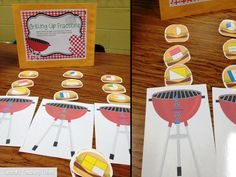 Math is a Picnic...in the Classroom! Too cute!