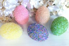 Beaded Easter Eggs -