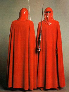 Royal Crimson Guard from Star Wars Return Of The Jedi