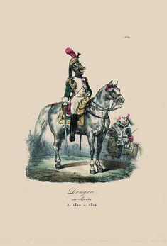 Dragone della guardia imperiale francese