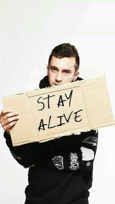 Stay alive.. stay alive for me..