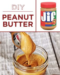 Homemade peanut butter & other foods