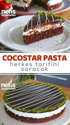 Video narration Cocostar Cake (Kokostar pasta video) How to make a recipe? Pork Recipes, Pasta Recipes, Cake Recipes, Cooking Recipes, Yummy Recipes, Food Cakes, Cake Videos, Food Videos, Turkish Recipes