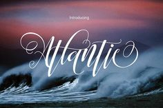 Atlantic by Tone Studio on @creativemarket