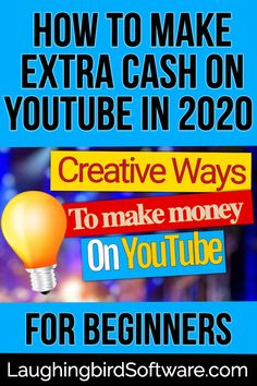 Beginner YouTube marketers: Learn how to make extra cash on YouTube in 2020. Use these 5 creative ways to earn money and see your business grow. #youtubemarketing #youtubevideo #youtubetips #internetmarketer #makemoney #youtubeginner Ways To Earn Money, Make Money Blogging, Way To Make Money, How To Make, Social Media Design, Social Media Tips, Social Media Marketing, Content Marketing, Affiliate Marketing