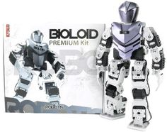 Bioloid Premium Kit by Robotis. $1199.00. Bioloid Premium Kit is the much anticipated update to the hugely popular Bioloid Comprehensive Kit! Lithium Polymer batteries, the new CM-510 controller, and a brand new look makes this one of the most competitive and advanced humanoid robots on the market!