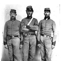Confederate Soldiers.Perhaps 3rd AL  Civil War