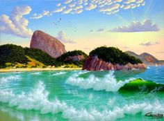Copacabana Waves   Artsia