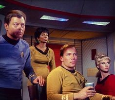 #StarTrek #TOS #TheOriginalSeries #DoctorMcCoy #Bones #McCoy #Uhura #NyotaUhura #Communications #CaptainKirk #James #Tiberius #Kirk #JaniceRand #Yeoman #Enterprise #Federation #Starfleet