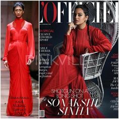 Celebrity Style,sonakshi sinha,Shantanu and Nikhil,L'officiel India