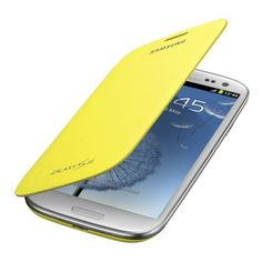 Samsung® Flip Cover for Samsung Galaxy S3, Yellow
