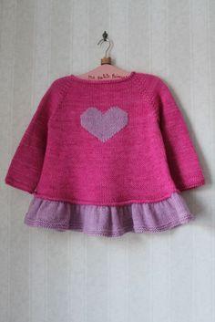 Baby Knitting Patterns Top Ravelry: Milainemicoton & # s ~ Tutu Top ~ Baby Knitting Patterns, Knitting For Kids, Crochet For Kids, Baby Patterns, Crochet Baby, Knit Crochet, Tutu Top, Pull Bebe, Baby Girl Sweaters