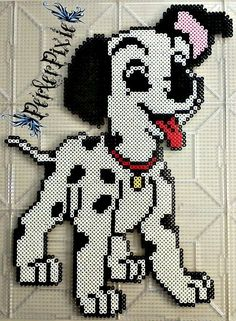 Disney's 101 Dalmatians Puppy Perler Beads by PerlerPixie