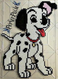 Disney's 101 Dalmatians Puppy  Perler Beads by PerlerPixie