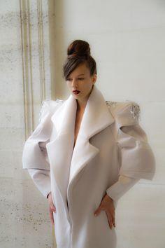 nika tang hand embroidered coat