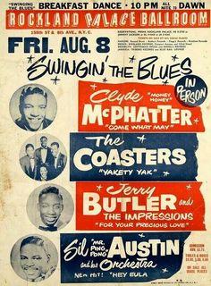 R and B Music Poster www.groovesvilleusa.com/blog