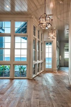 Beach house with reclaimed hardwood floors | Urban Grace Interiors Home List, Beach House, Single Family, Home And Family, Mansions, Bath, Design, House Styles, Furniture