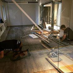Our new showroom in the making at Nacka strand. Room 602 gonna look nice! #holebrooksweden #holebrook #showroom #sthlm #nackastrand