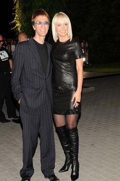w/ singer & friend Valeriya Bee Gees Live, Selfies, Andy Gibb, Loving U, Superstar, Sexy, Leather Skirt, Singer, Guys