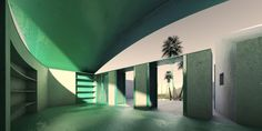Lime and Limpid Green by Antonino Cardillo architect in Somewhere in the Mediterranean, Italy