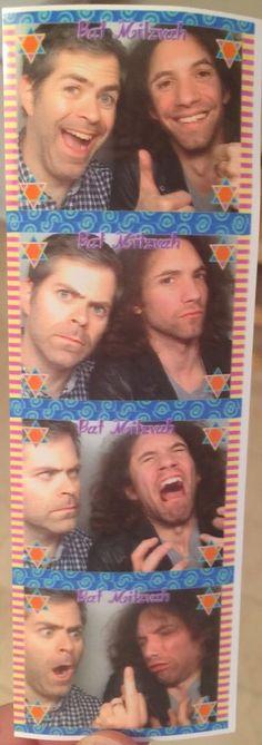 NSP Brian (Ninja Brian) and Dan (Danny Sexbang) photo booth photo strip