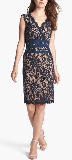 Beautifully embellished sheath dress