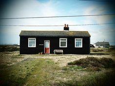 black house, red door