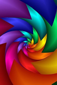 Abstract with color Rainbow Wallpaper, Colorful Wallpaper, Cool Wallpaper, Wallpaper Backgrounds, World Of Color, Color Of Life, Cellphone Wallpaper, Iphone Wallpaper, Illusion Art