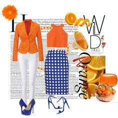 Pop of Orange
