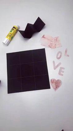 Diy Crafts Hacks, Diy Crafts For Gifts, Diy Home Crafts, Diy Arts And Crafts, Cool Paper Crafts, Paper Crafts Origami, Diy Paper, Paper Art, Origami Cards