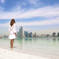 Abu Dhabi skyline @chiclebelle