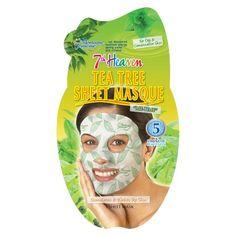 7th Heaven Tea Tree Spa Face Mask.