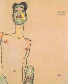 Mime van Osen, 1910 - Egon Schiele