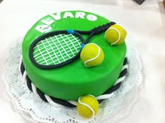 Tennis Cupcakes, Tennis Cake, 65th Birthday, Birthday Parties, 49ers Cake, Giraffe Birthday Cakes, Cake Icing, Chocolate Cream, Cakes For Boys