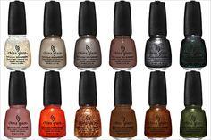 Hunger Games nail polish colors!