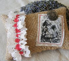 alice in dreamland lavender pillows and sachets bags fashion