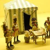 Exposición Batallas de Napoleón en Valencia  L'Iber. Museo de los soldaditos de plomo, Valencia  desde 29 septiembre 2011 hasta 30 junio 2012