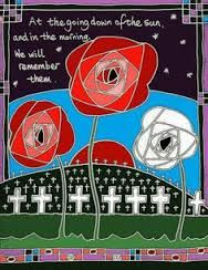 Mackintosh type depiction of Remembrance Day