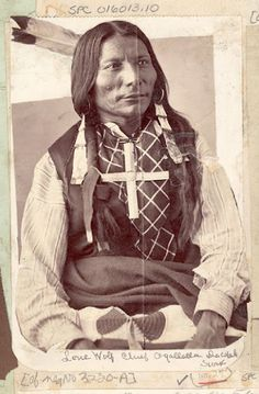 Lone Wolf – Oglala – 1872