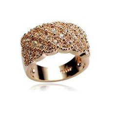 This BeautifulAccentedVery Fashionable Full Silver Rhinestone Finger Ring  makes an ideal gift forAppreciation, Holidays, Graduation, and more.Material - Alloy, Cubic Zirconia Trend - Fashion Gender - Women Color - GoldCan be wornas a finger ring, knuckle ring, or pinky ring.
