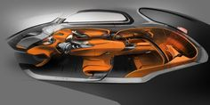 Hyundai Intrado Concept Interior Design Sketch