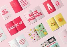 Batch Organics simple but bold rebranding by Rugged Edge